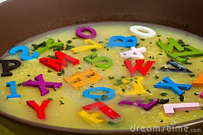 Soup clipart alphabet soup Soup Stock Images art 378