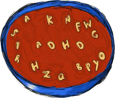Soup clipart alphabet soup Clipart jpg Alphabet clipart of