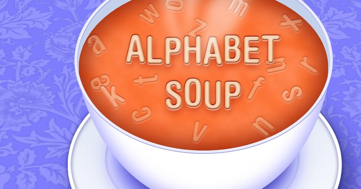 Soup clipart alphabet soup Diary: Soup  Alphabet Picture