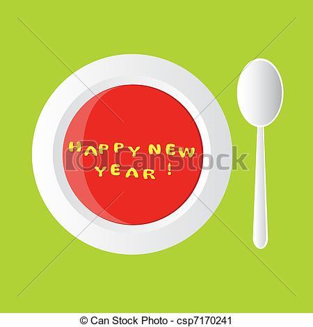 Soup clipart alphabet soup Soup year new new