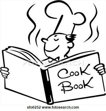 Soup clipart cookbook Recipe Stock Free book