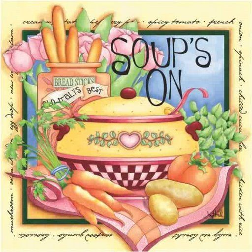 Soup clipart cookbook On and Pinterest Pin 2