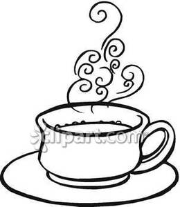 Coffee clipart cup soup And black clipart white white