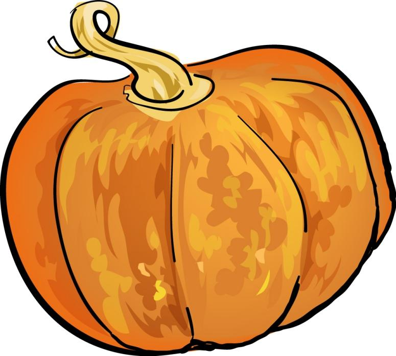 Drawn pumpkin printable Pumpkin  Chorizo Soup Vessel: