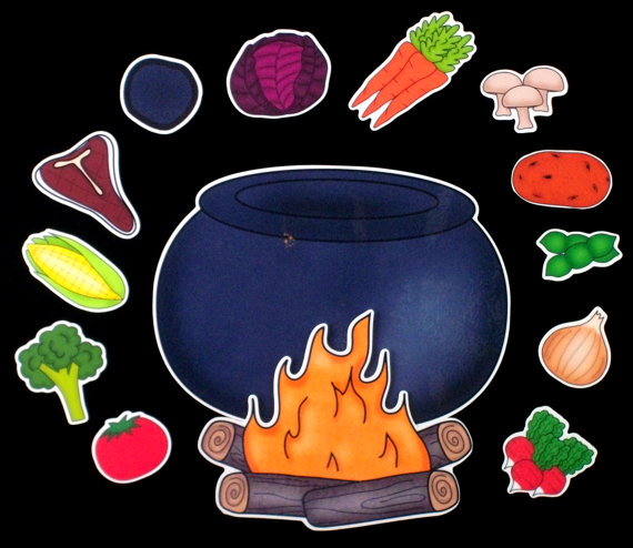 Stew clipart stone soup Etsy $18 on 00 Etsy
