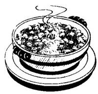 Stew clipart black and white Soup2 Clipart Free Images Clipart