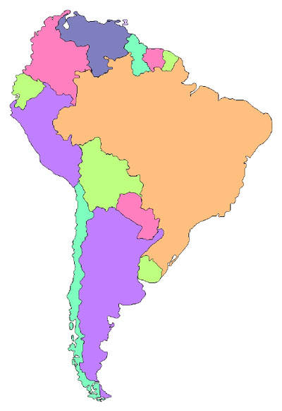 South America clipart Clipart Clipart South Map South