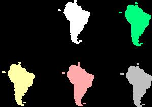 South America clipart Clip at Art vector America
