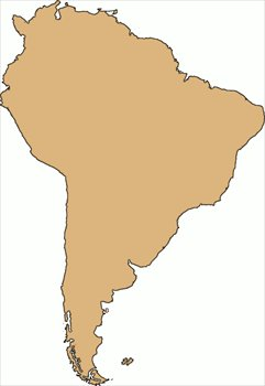 Continent clipart south america America large Clipart large South