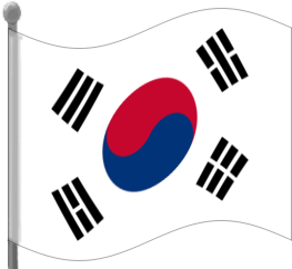 South Korea clipart South South Flag Art Korea