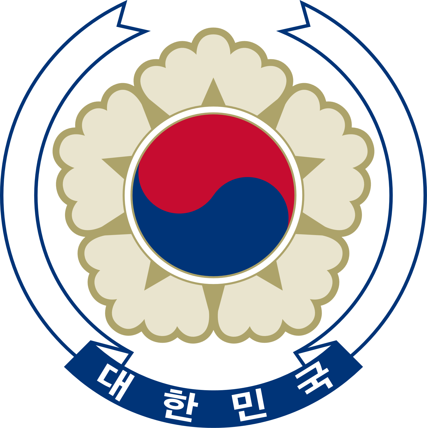 South Korea clipart South Coat Of  Arms