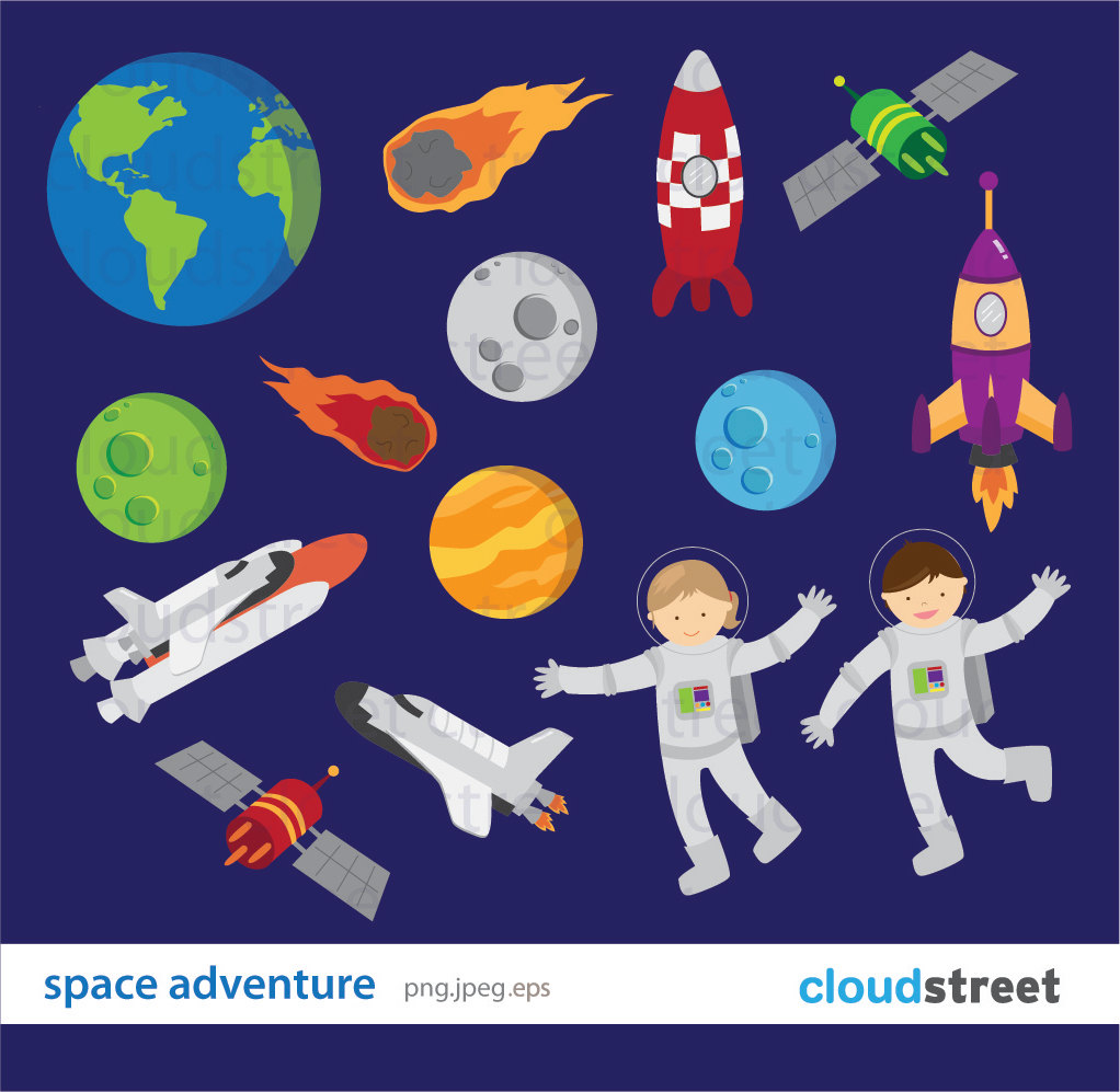Adventure clipart outer space Images Clipart Space Art Free