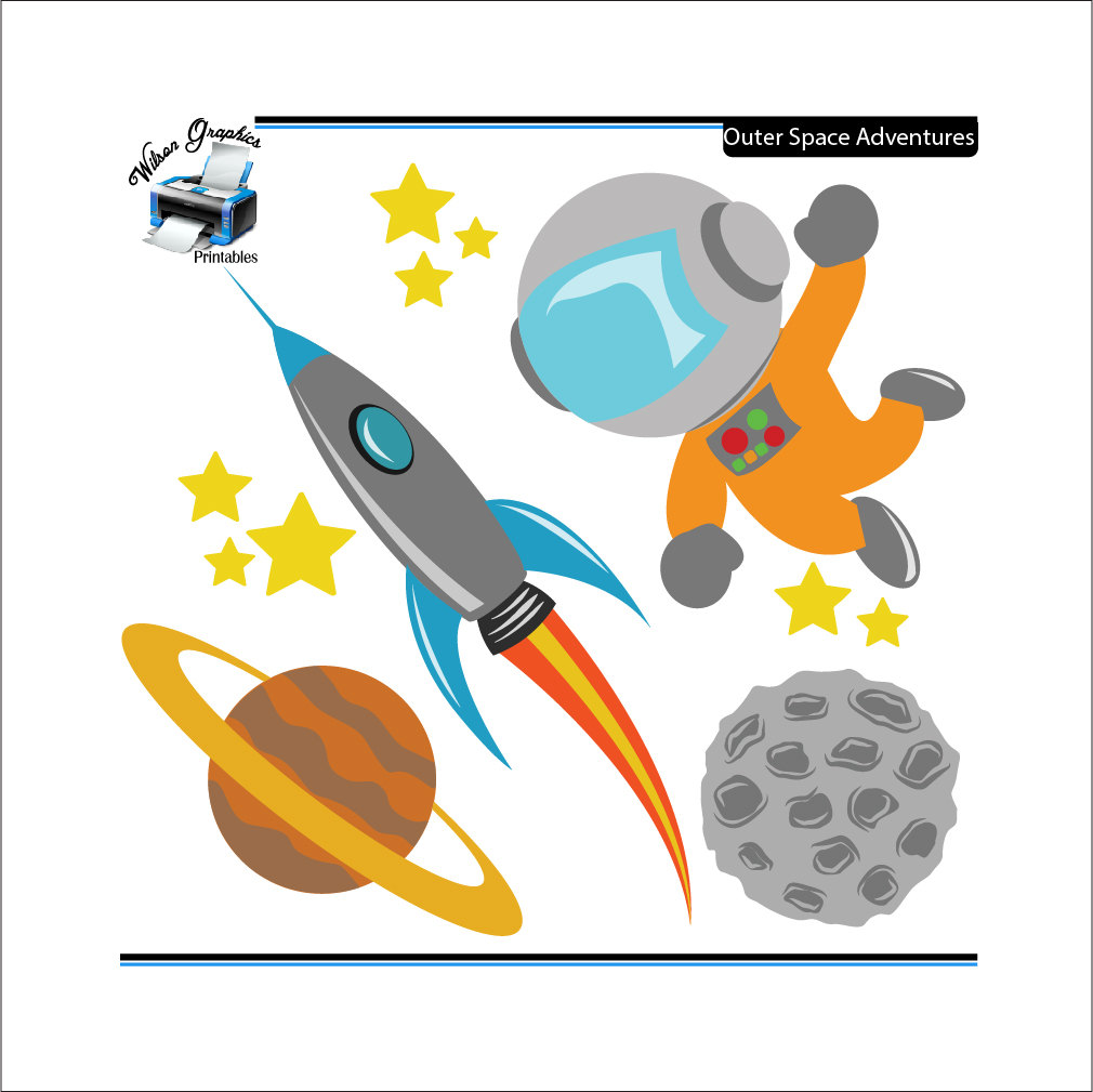 Adventure clipart outer space Space Clipart outer Outer space