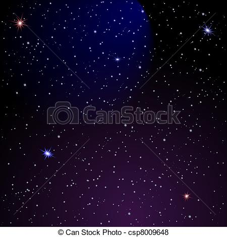 Galaxy clipart background drawing #4