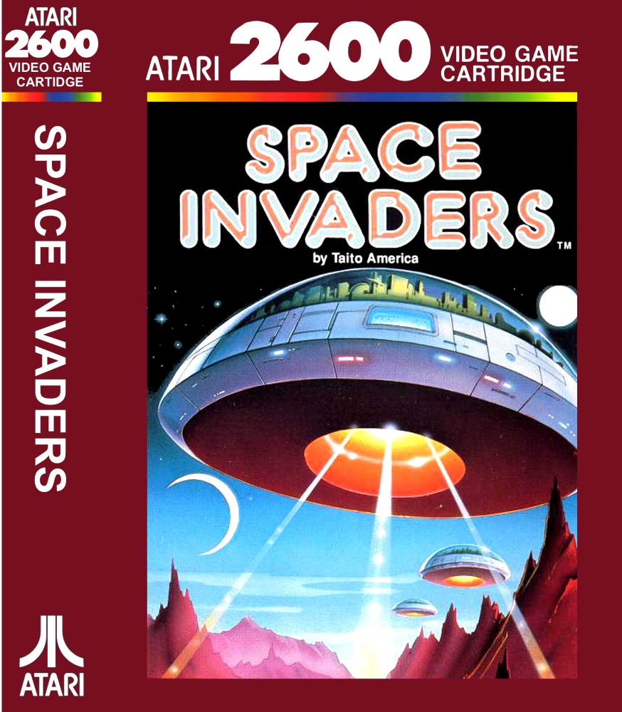 Space Invaders clipart atari game Video cover game at Buy
