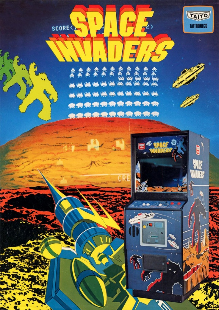 Space Invaders clipart atari game Flyer Invaders Pinterest Space on
