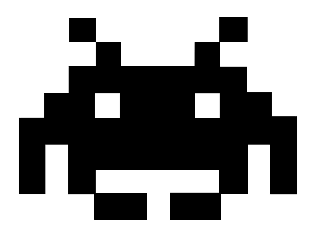 Space Invaders clipart retro Revolution space Download Download Print