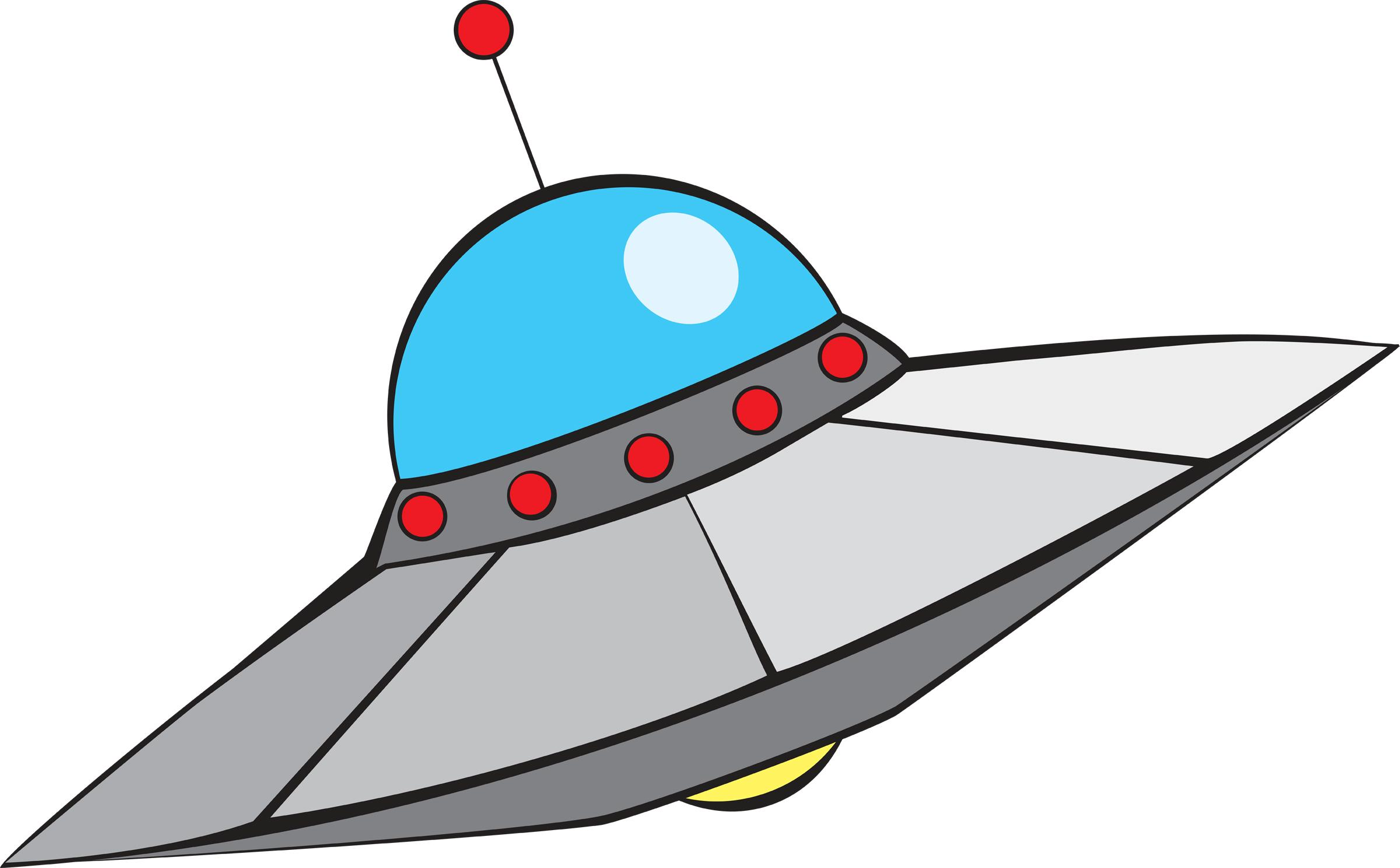UFO clipart alien ship Saucer Bay Flying Clipart Clipart
