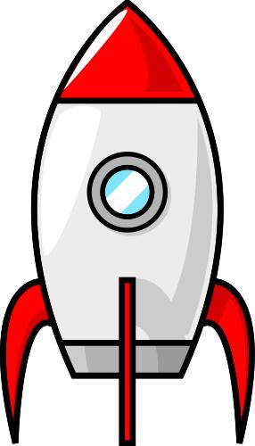 Spaceship clipart Spaceship Art Cartoon Clip Moon