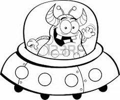 Drawn spaceship clipart An Bedroom How Alien Pinterest