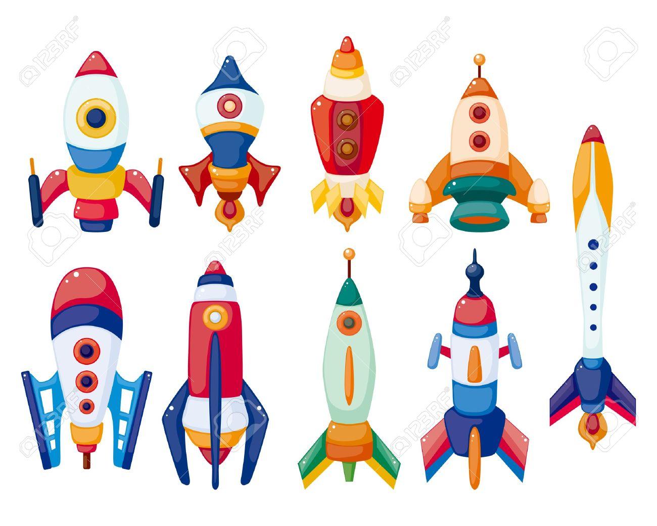 Amd clipart rocket Stock icon set 11383108 Stock