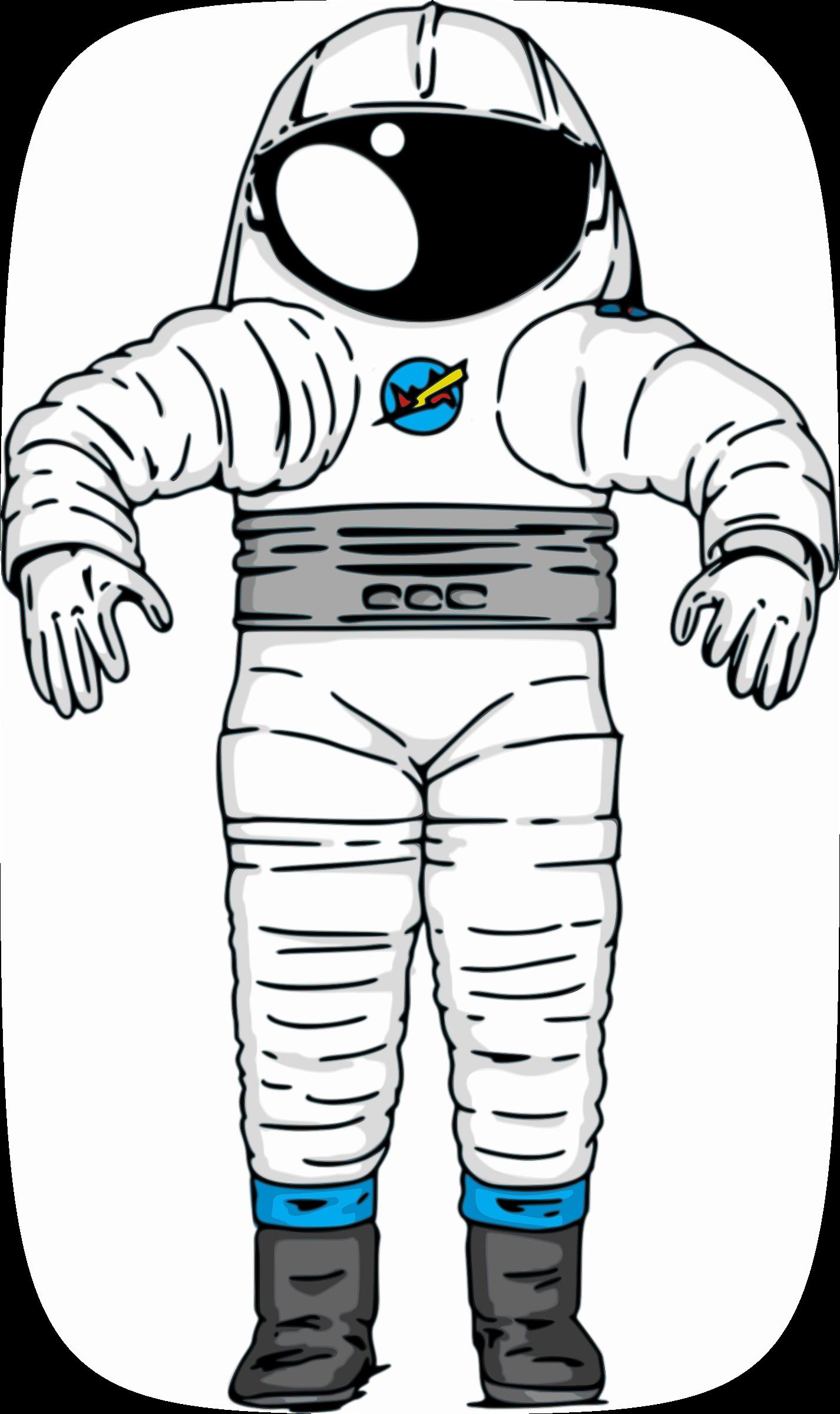Spacesuit clipart III Astronaut NASA Suit III
