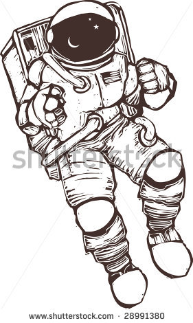 Spacesuit clipart space science Space  Clipart Suit Astronaut