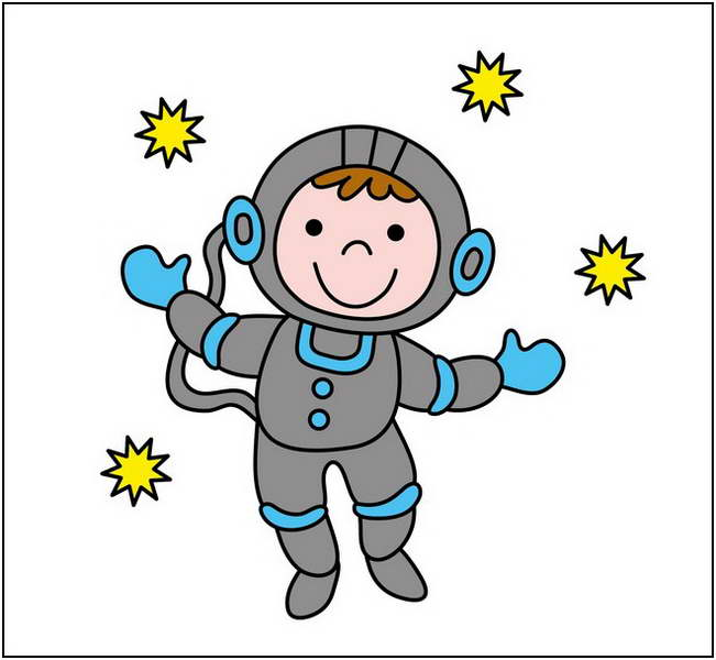 Astronaut clipart for kid Astronaut art Astronaut clipart #16425