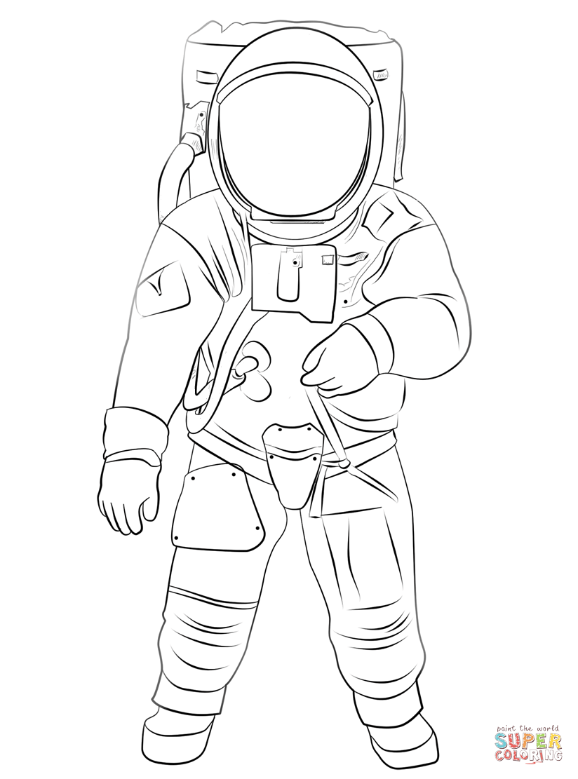 Spacesuit clipart cute : Astronauts Space With Astronaut