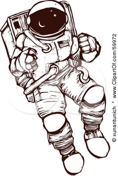 Spacesuit clipart space exploration Drawings Space Clipart thousands Space