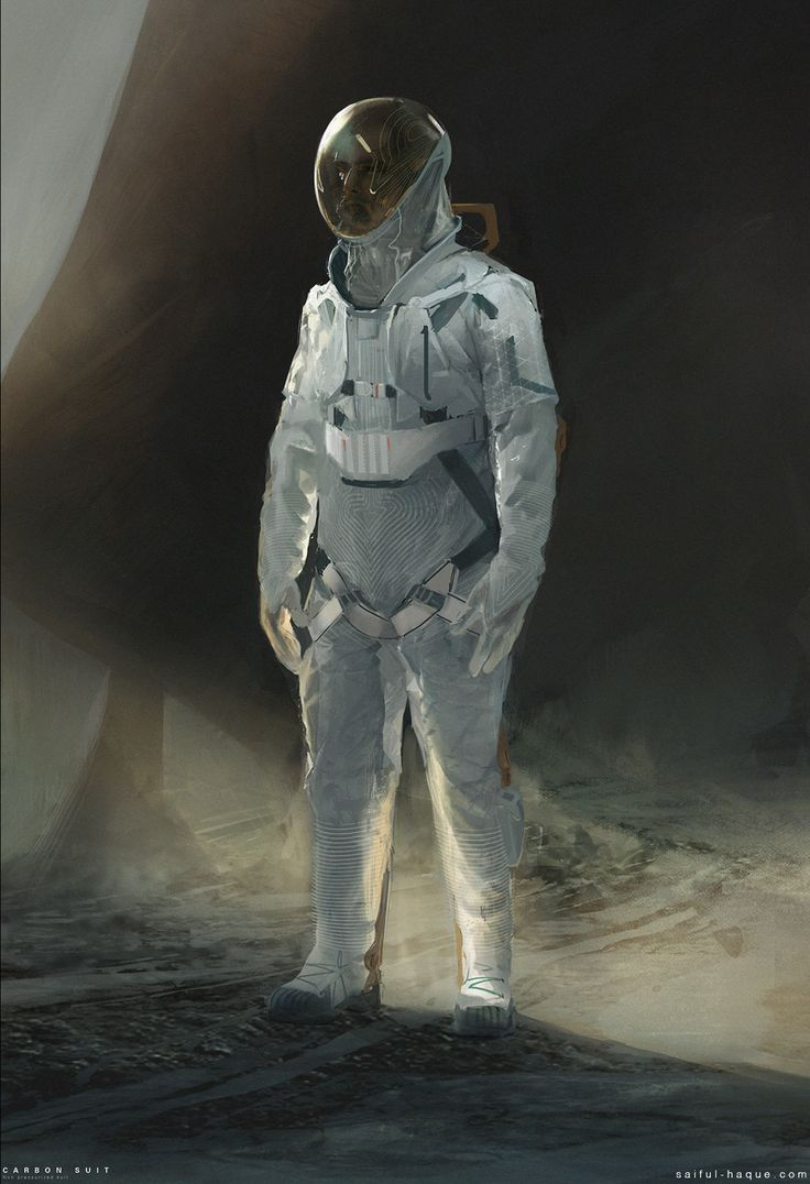 Spacesuit clipart space science Saiful ideas at ArtStation suit