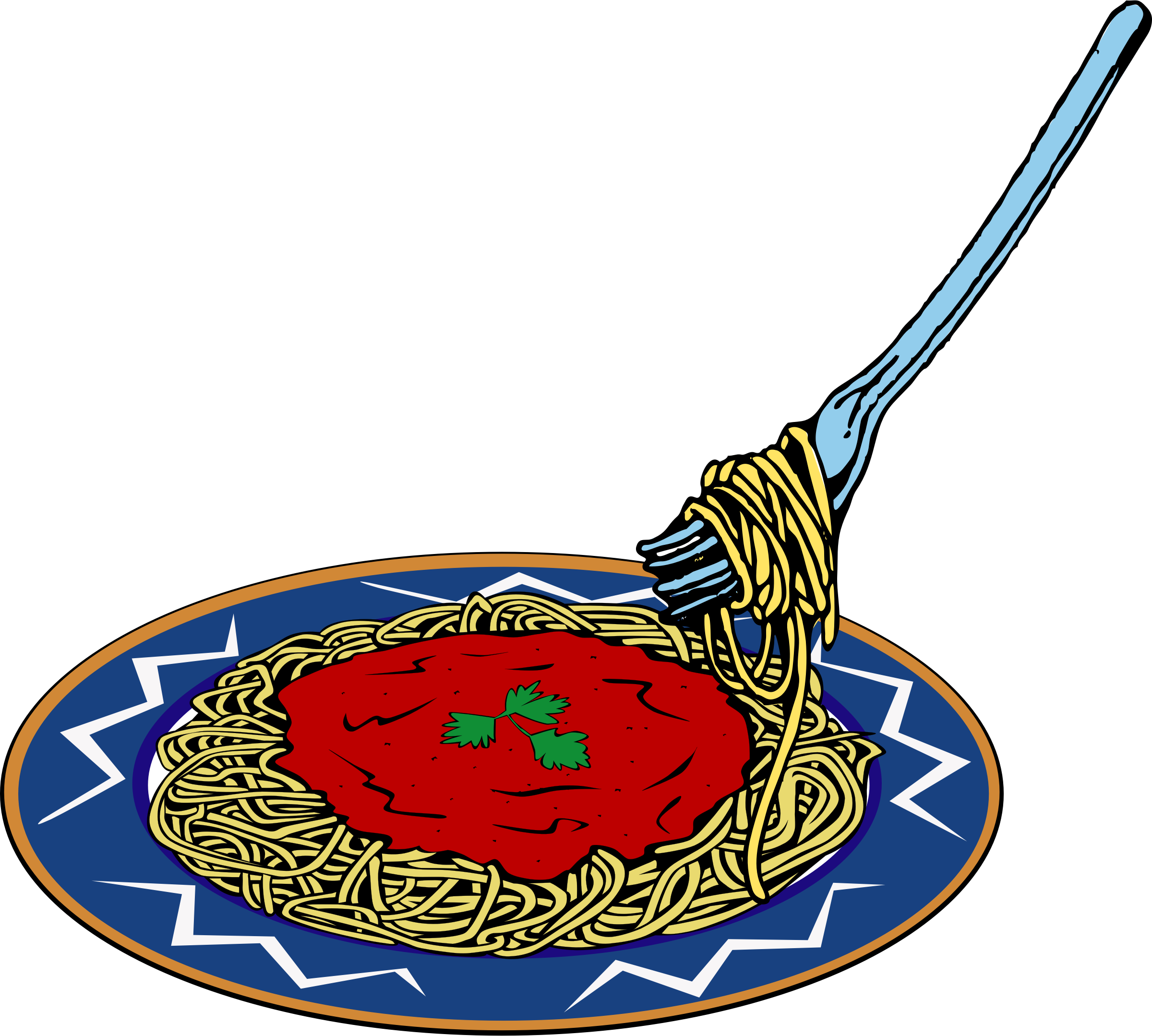 Noodle clipart plate spaghetti Spaghetti Clipart Free Best Clipartion
