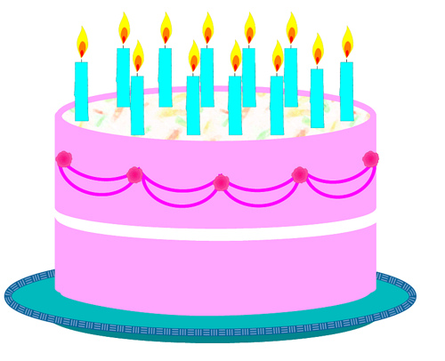 Birthday clipart birthday cake Free  birthday pictures pictures