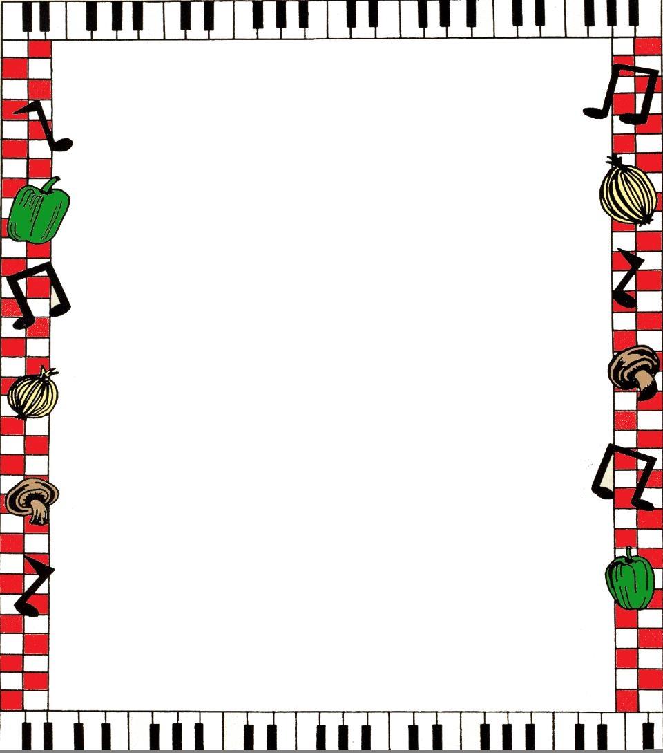 Spaghetti clipart border  Italian Download Clipart Clip