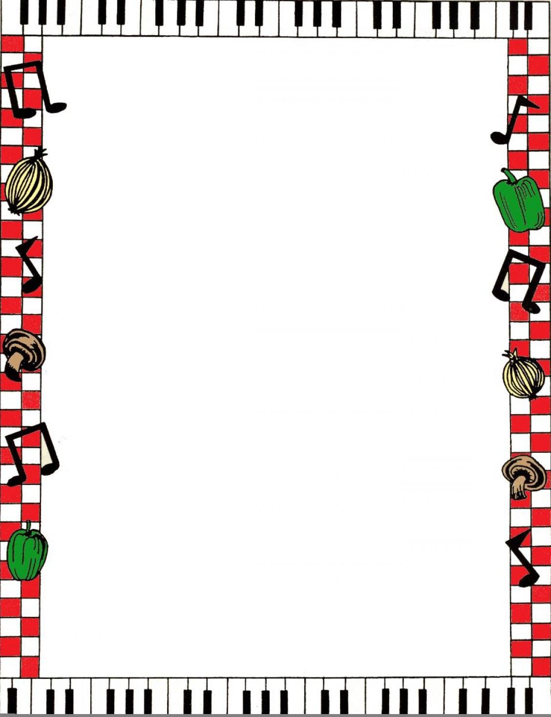 Spaghetti clipart border Spaghetti Art Clip 95300 Clip