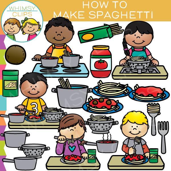 Spaghetti clipart spagetti Make Illustrations How & Spaghetti