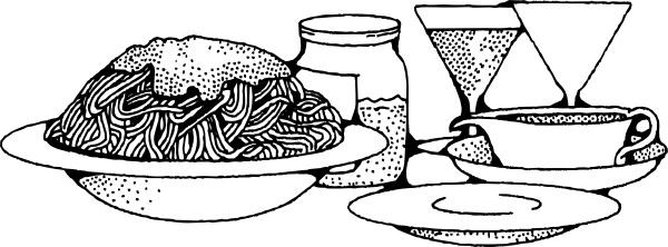Spaghetti clipart spagetti In svg Spaghetti ( Open