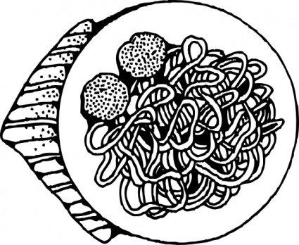 Spaghetti clipart vector Art 7 Spaghetti Spaghetti Vector