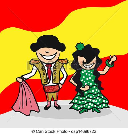 Spain clipart People Spain to and man