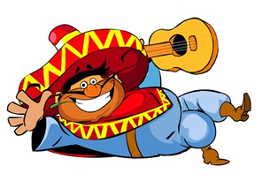 Spanish clipart animated Songs Answers here Spanish enter
