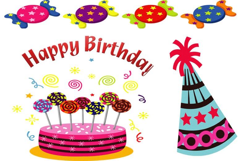 Classy clipart happy birthday Happy spanish in in spanish