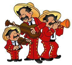 Spanish clipart mariachis ■ Fun about Mariachi's images
