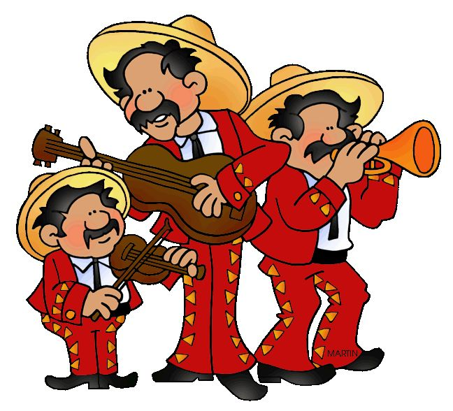 Spanish clipart mariachis Spanish Spanish on Holidays Holidays