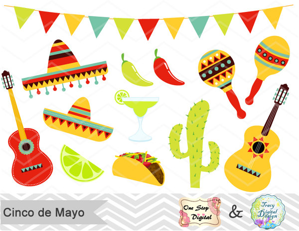 Tequila clipart mexican guitar Clip Etsy Clipart Art Clipart