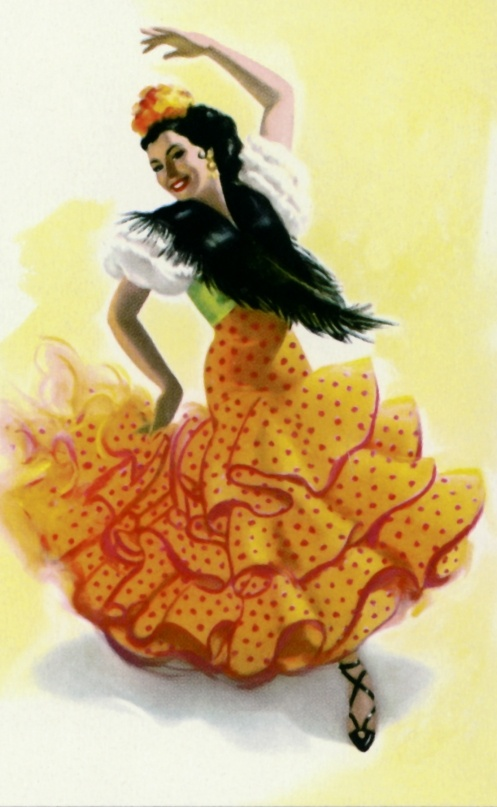 Spanish clipart mexican lady About images best on 244