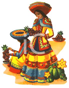 Spanish clipart mexican lady Images May Pinterest best 22