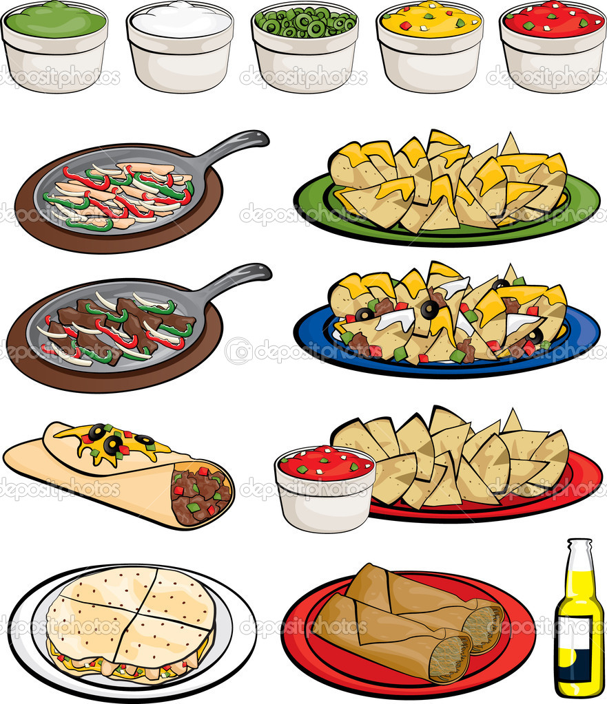 Pepper clipart mexican dinner Food clipart Food Mexican free