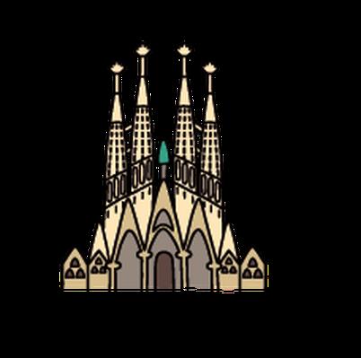 Barcelona clipart PBS LearningMedia Media Gallery Sagrada