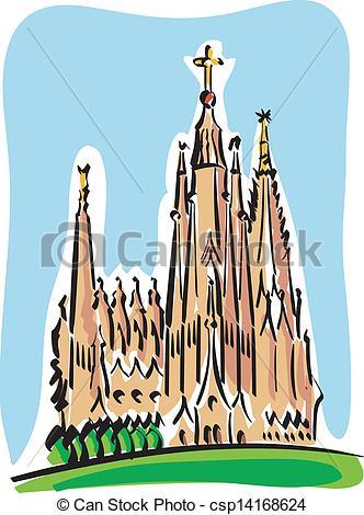 Barcelona clipart Sagrada Familia Barcelona (the (the