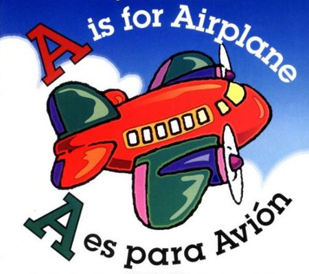 Spanish clipart spanish book A Avión and Board Disney